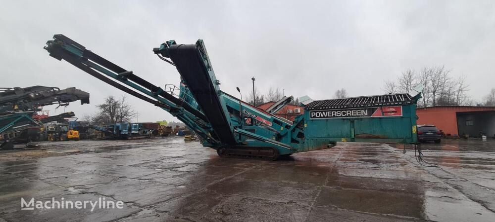 POWERSCREEN Chieftain 1700 mobile crushing plant