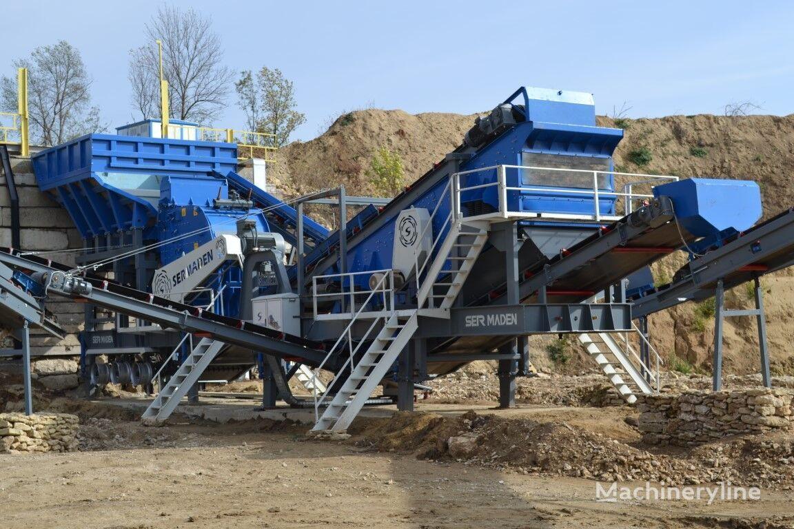 new SERMADEN USINE MOBILE DE CONCASSAGE ET DE CRIBLAGE A PERCUSSION  mobile crushing plant