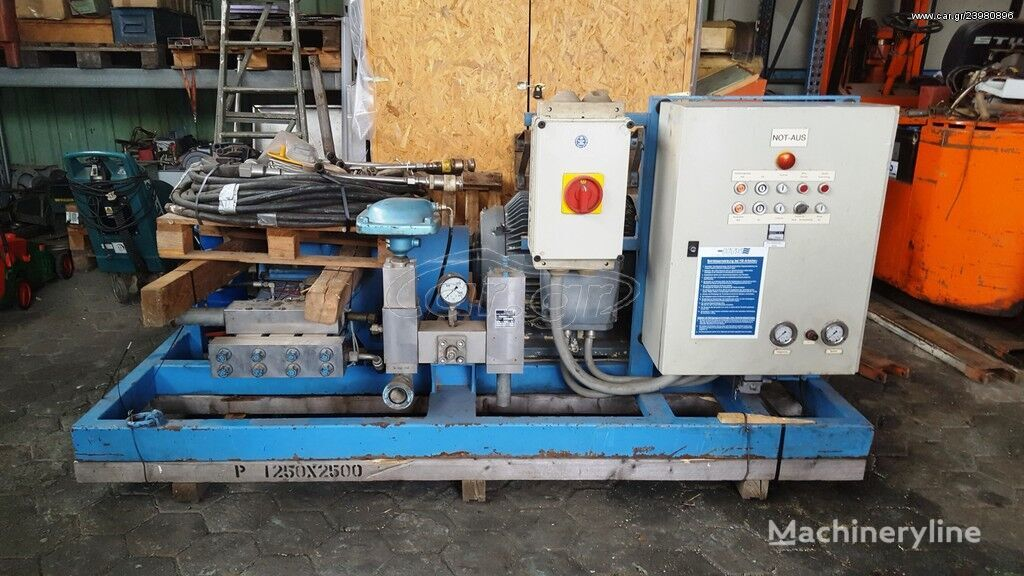 BUCHEN high pressure pump 800 BAR motor pump