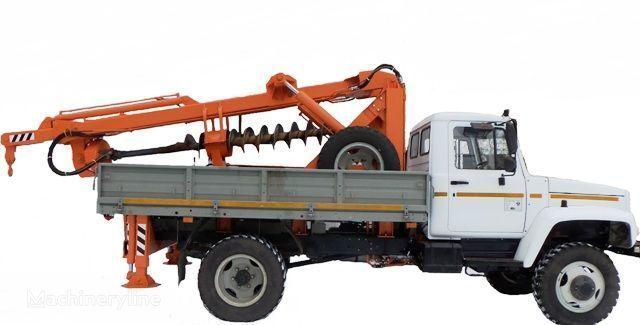 BKM ZU Burilno-kranovaya mashina BKM-3U na avtomobilyah GAZ 33081 («Sa other construction equipment