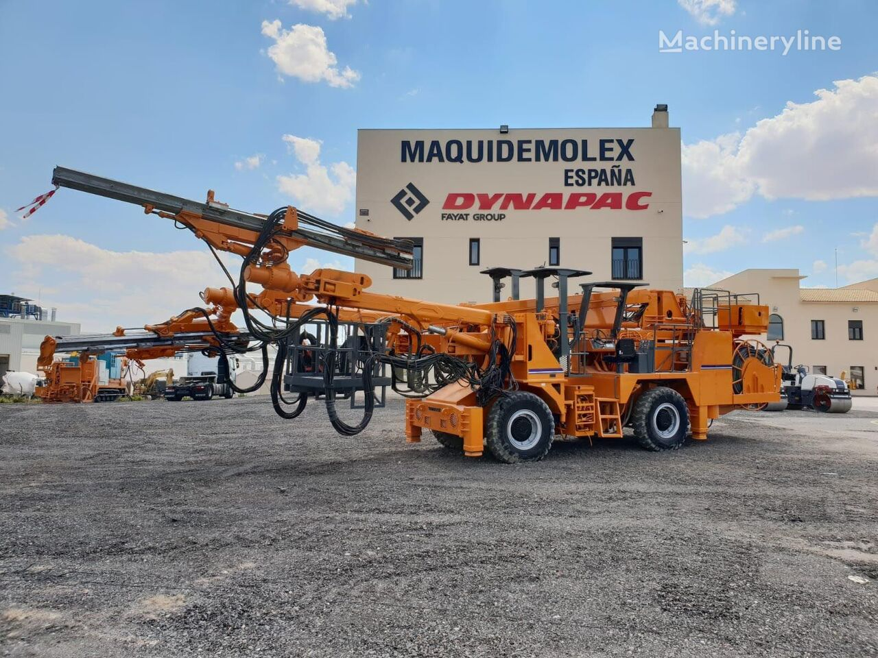 TAMROCK Maximatic 400 SA other underground equipment