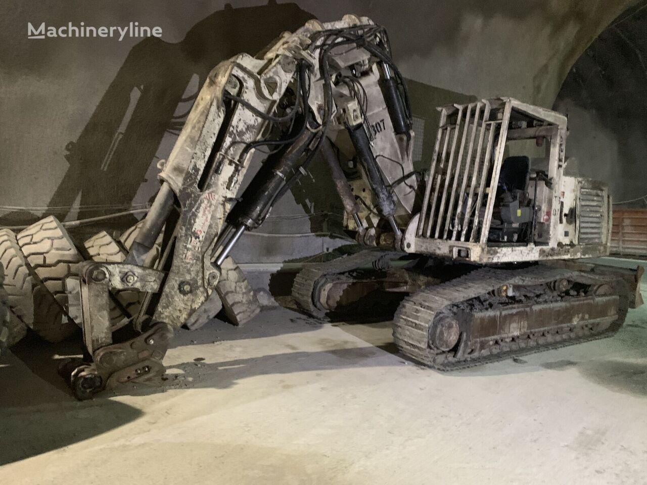 TEREX TE 210 Tunnelbagger Kettenbagger other underground equipment