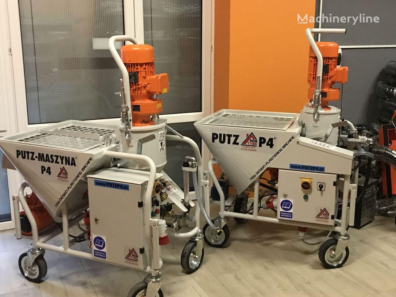 new Agregat tynkarski PUTZ P4 plastering machine