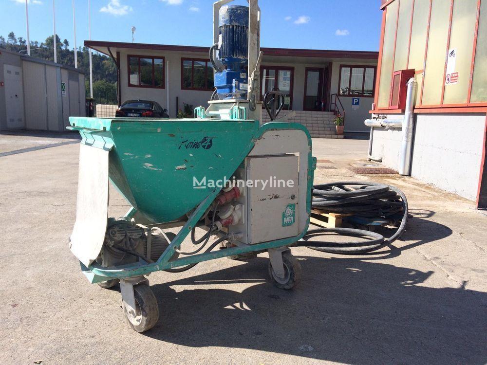 KOine 4 plastering machine
