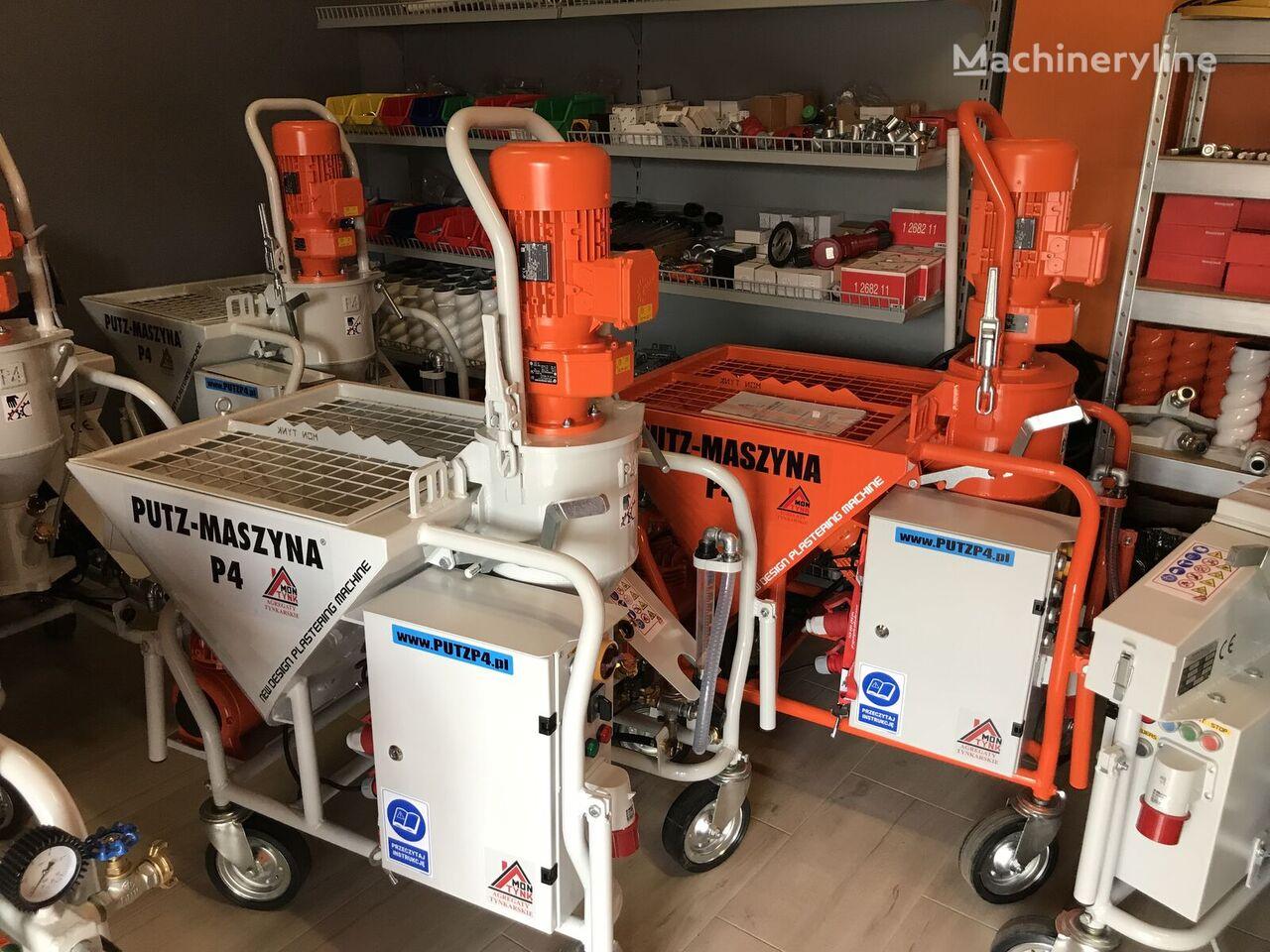 PUTZ MASZYNA P4 plastering machine