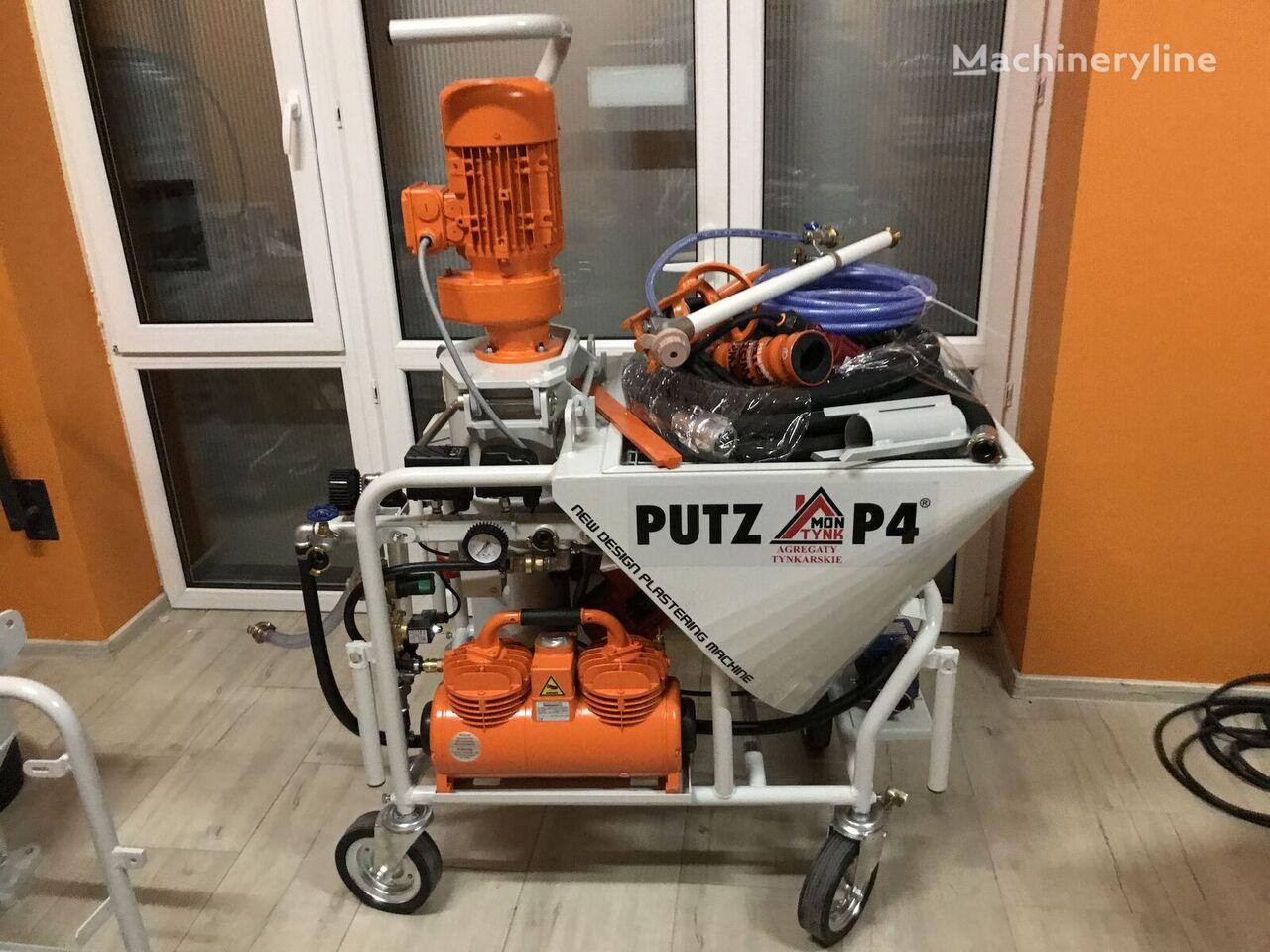 new PUTZ-P4 Agregat tynkarski  plastering machine