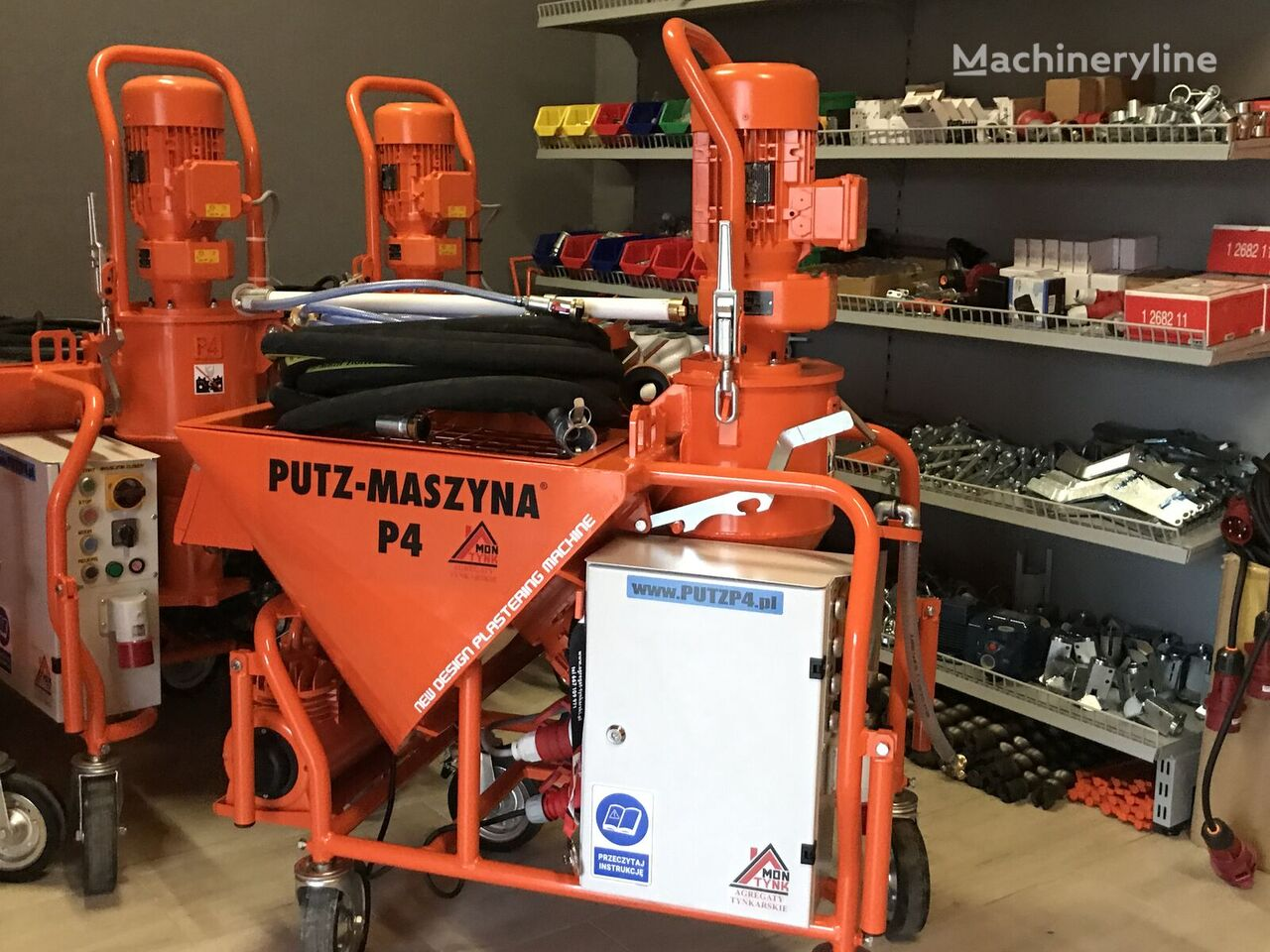 new PUTZ-P4 Agregat tynkarski  plastering machine