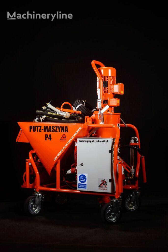 PUTZ-P4 Agregat tynkarski ,Putzmaschine P4 ,vakológép ,strojova omietack plastering machine