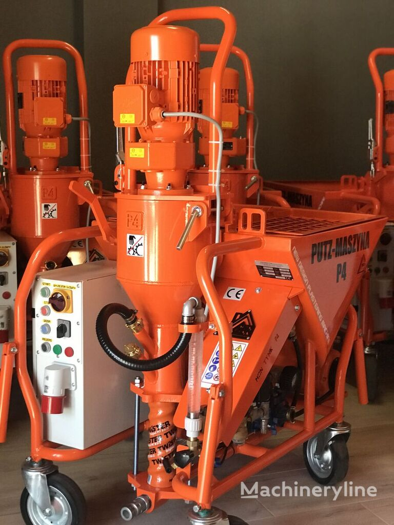 new PUTZ-P4 Agregat tynkarski ,Putzmaschine P4 ,vakológép ,strojova omietack plastering machine