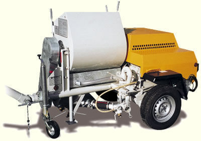new PUTZMEISTER P 13 plastering machine