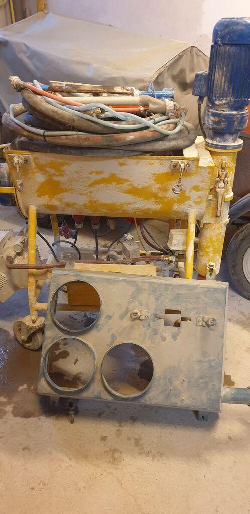 UELZENER  PUTZKNECHT S48  plastering machine