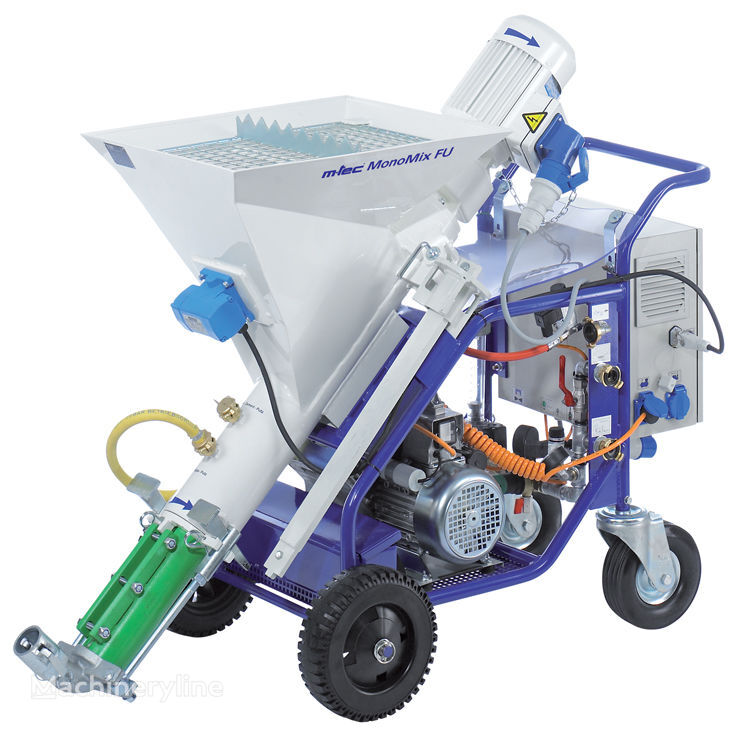 new m-tec monomix plastering machine