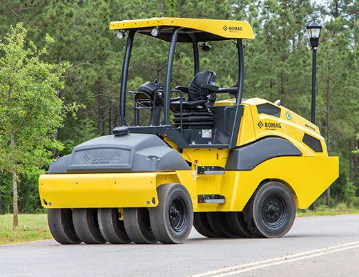 new BOMAG BW 11RH-5 pneumatic roller