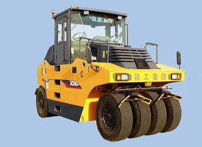 new XCMG XP163 pneumatic roller