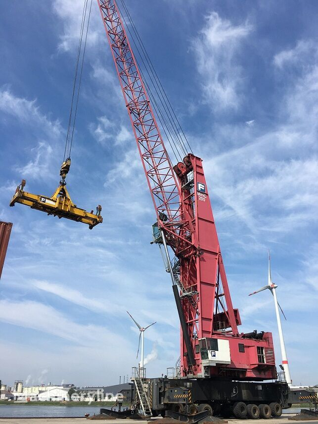 FANTUZZI REGGIANE MHC 200 portal crane