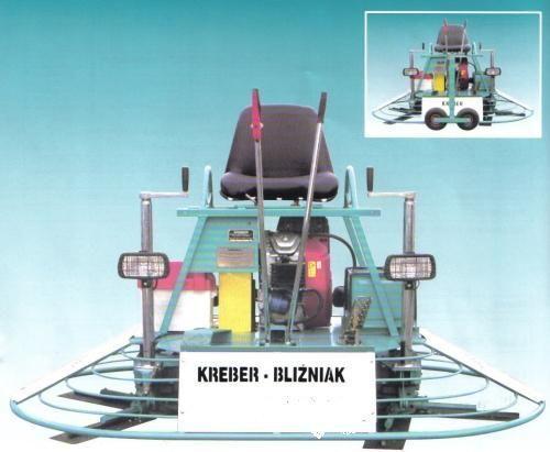new KREBER K-436-2-T Blizniak power trowel