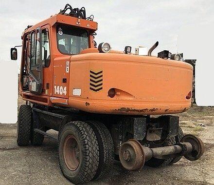 ATLAS Terex 1404 KZW rail excavator