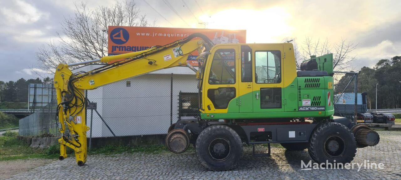 DOOSAN ACX160 WRR rail excavator