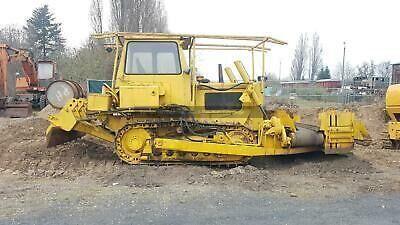 HANOMAG Planierraupe H 75 5S rail excavator
