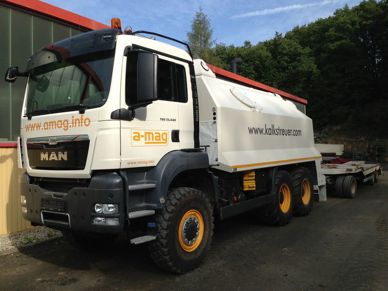 new MAN TGS spreader 33.440 - 6x6 recycler