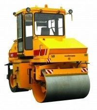 new AMKODOR 6632 road roller