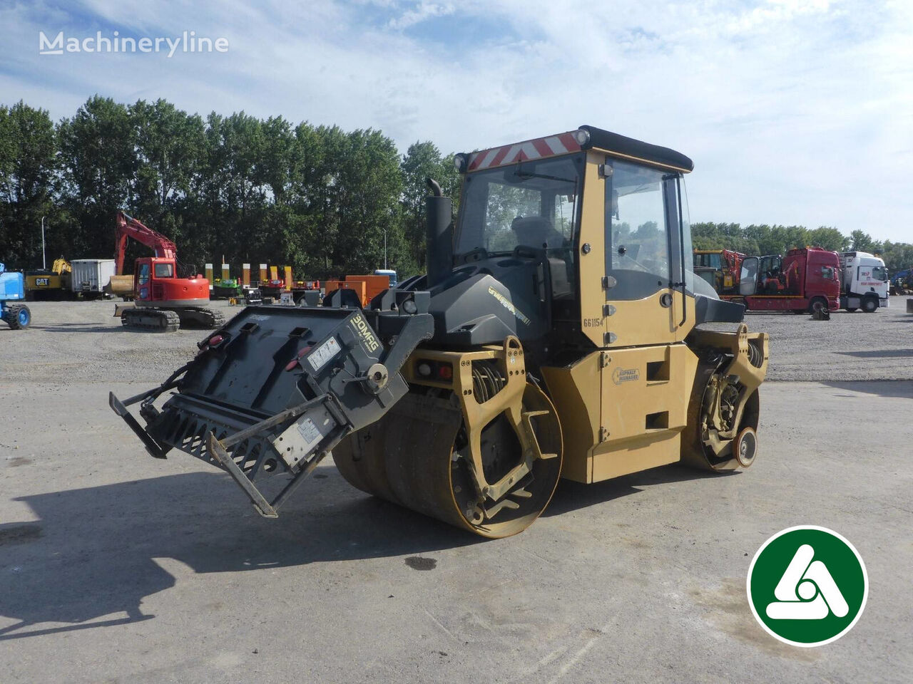 BOMAG BW154AP-AM road roller
