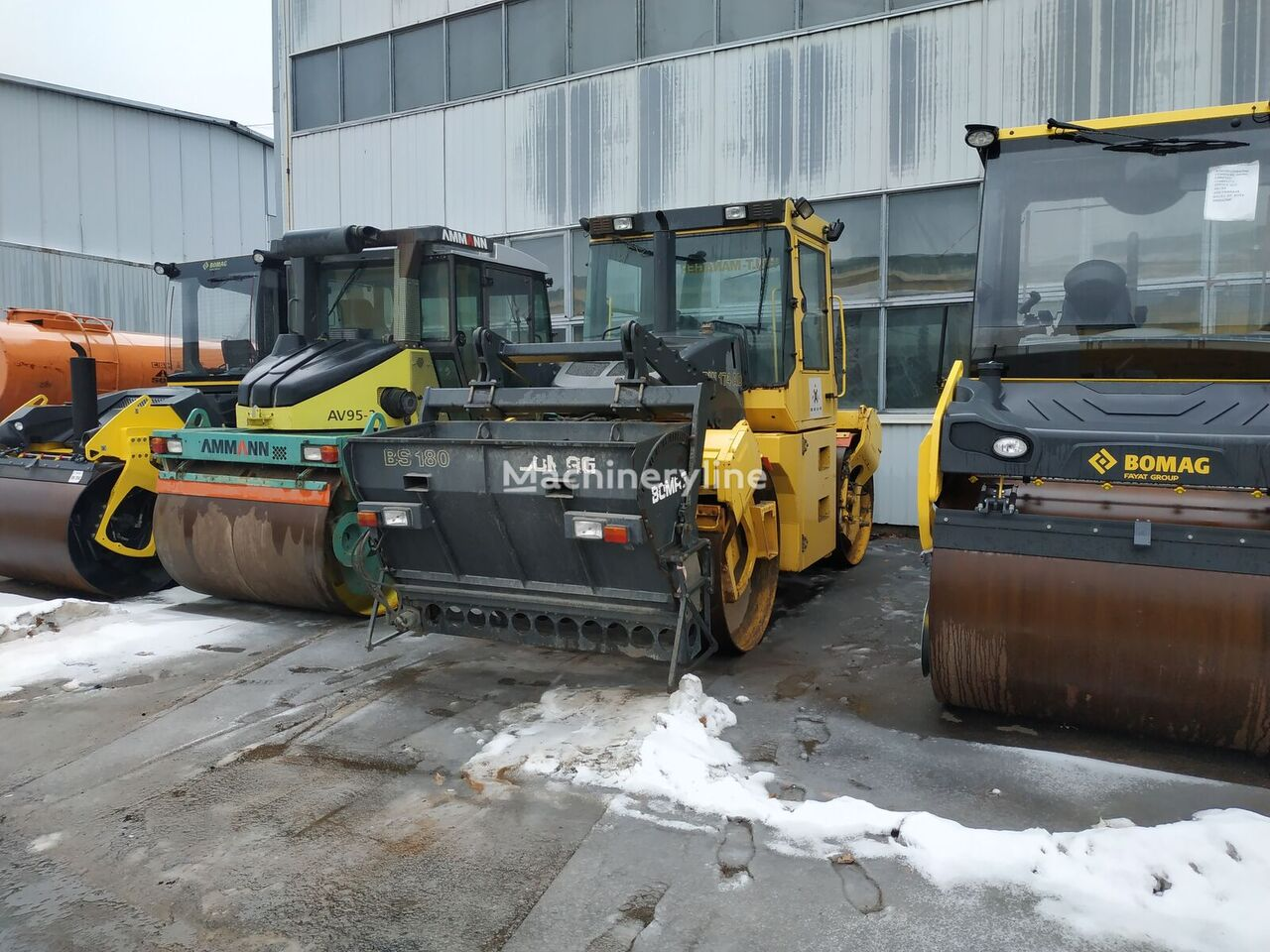 BOMAG BW174AD-2 road roller