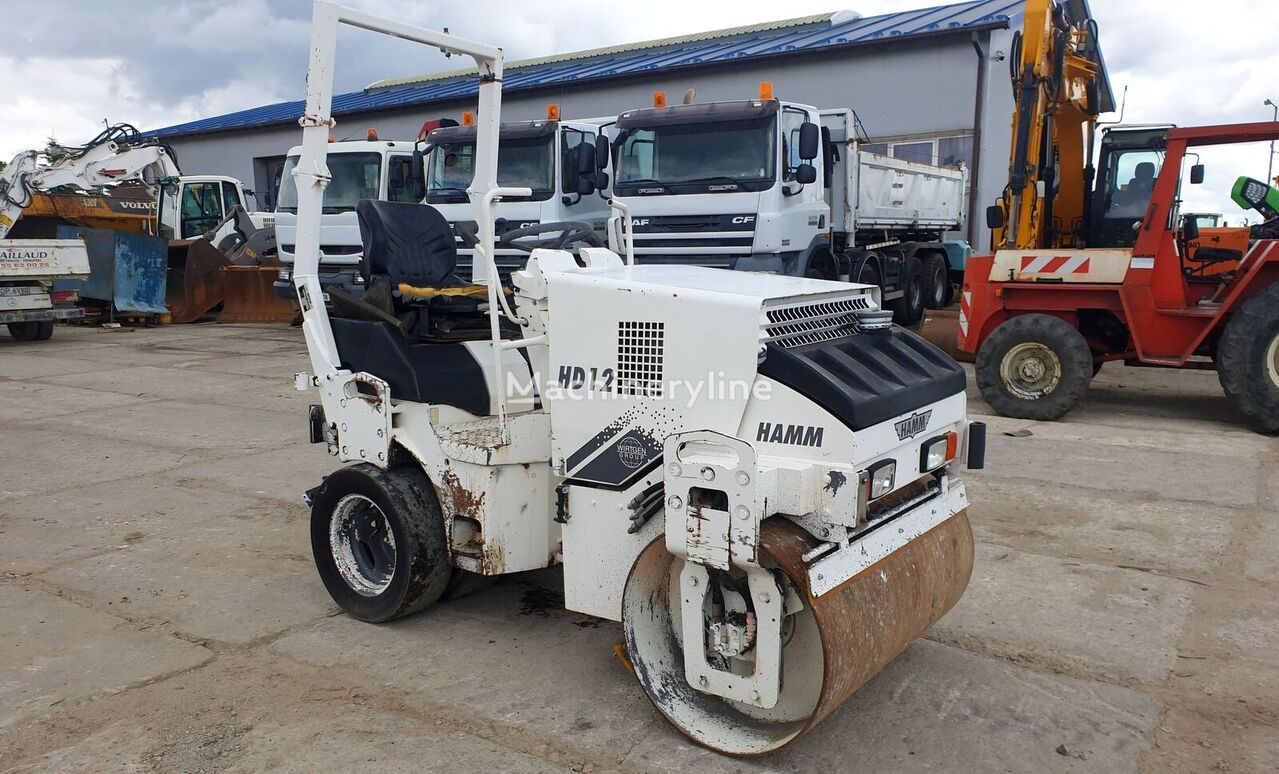 HAMM HD12K road roller