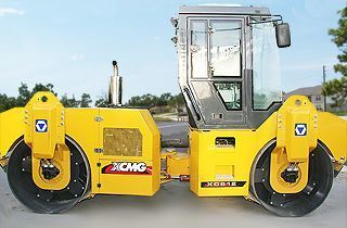 new XCMG XD81E road roller