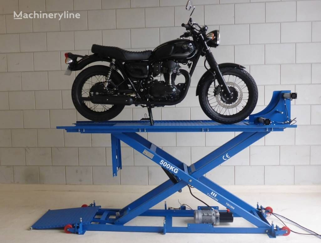 new TyreOn TSC500 Motorcycle Lift | up to 500 kg scissor car lift