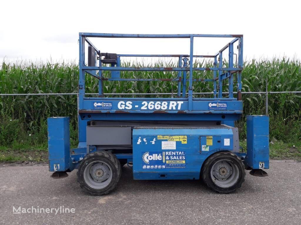 GENIE GS 2668 RT scissor lift