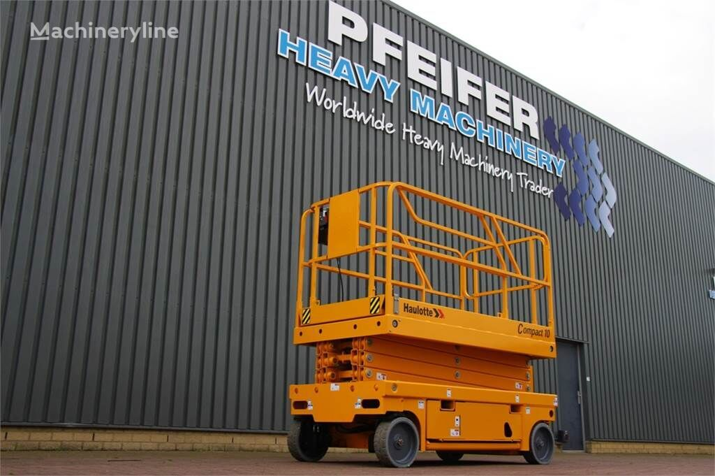 HAULOTTE COMPACT 10 New Electric 10.15 m Scissor Lift, Non scissor lift