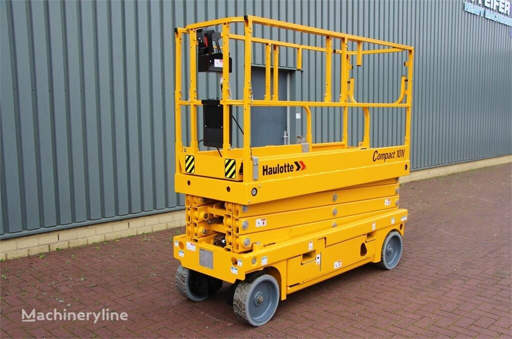 HAULOTTE COMPACT 10N Electric, 10m Working Height, Non Mark scissor lift