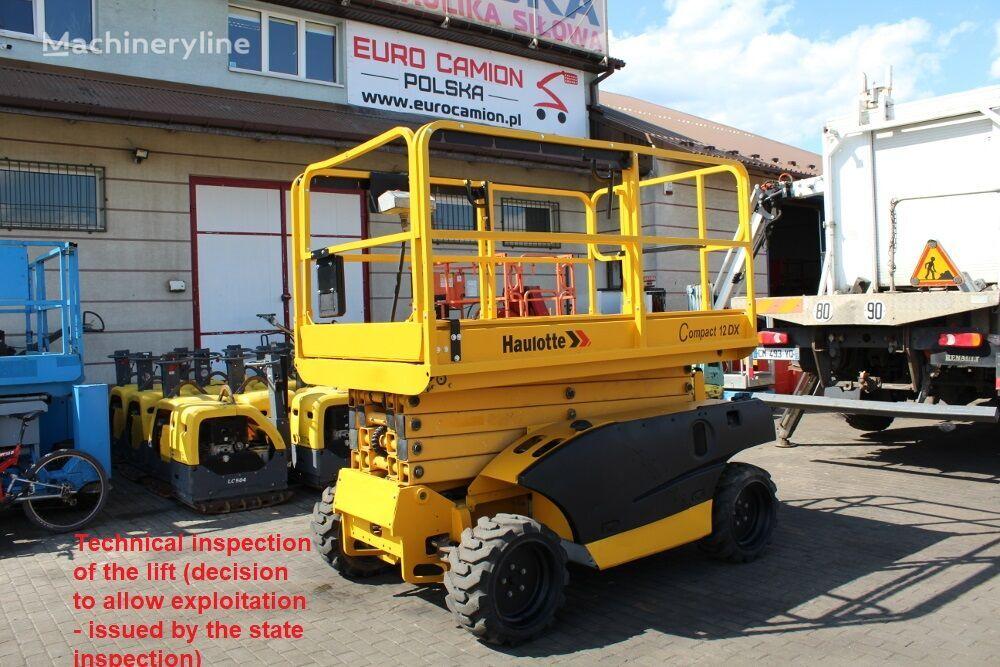 HAULOTTE Compact 12DX - 12 m Genie GS 3268 RT Skyjack SJ 6832, JLG 3394 scissor lift