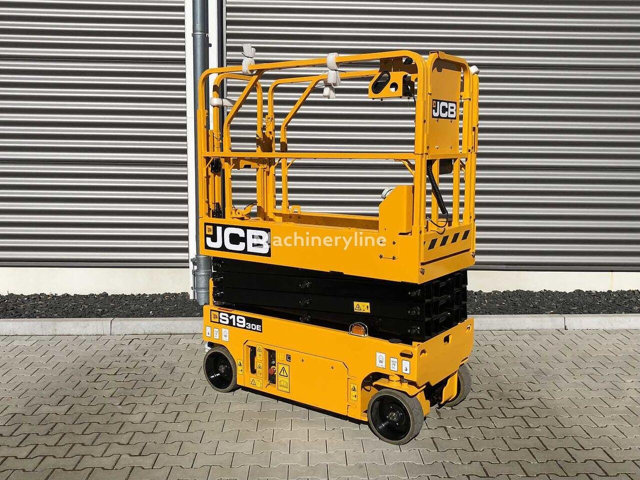 new JCB S1930E  scissor lift
