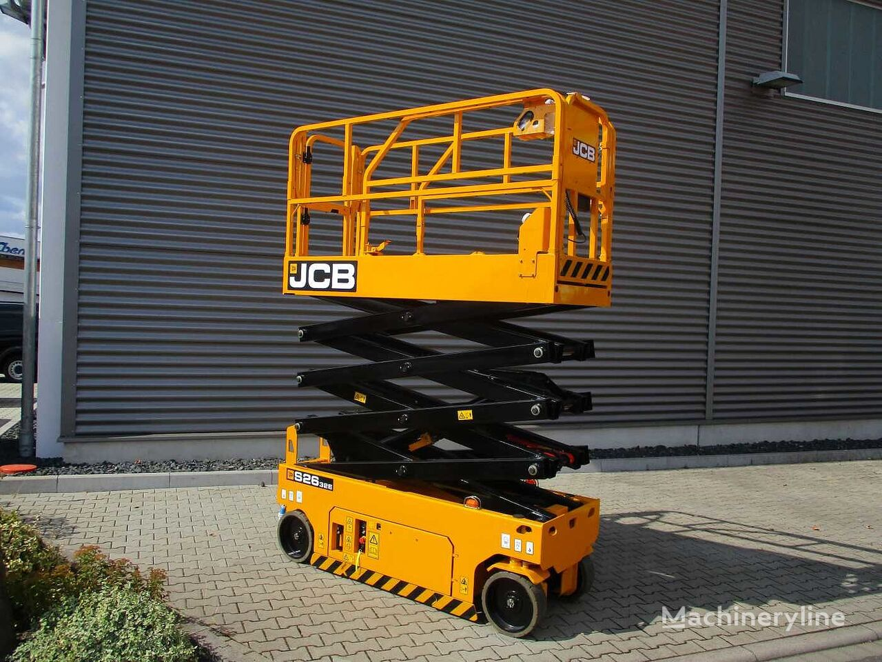 new JCB S2632E Scherenbühne // 10,1m Arbeitshöhe scissor lift