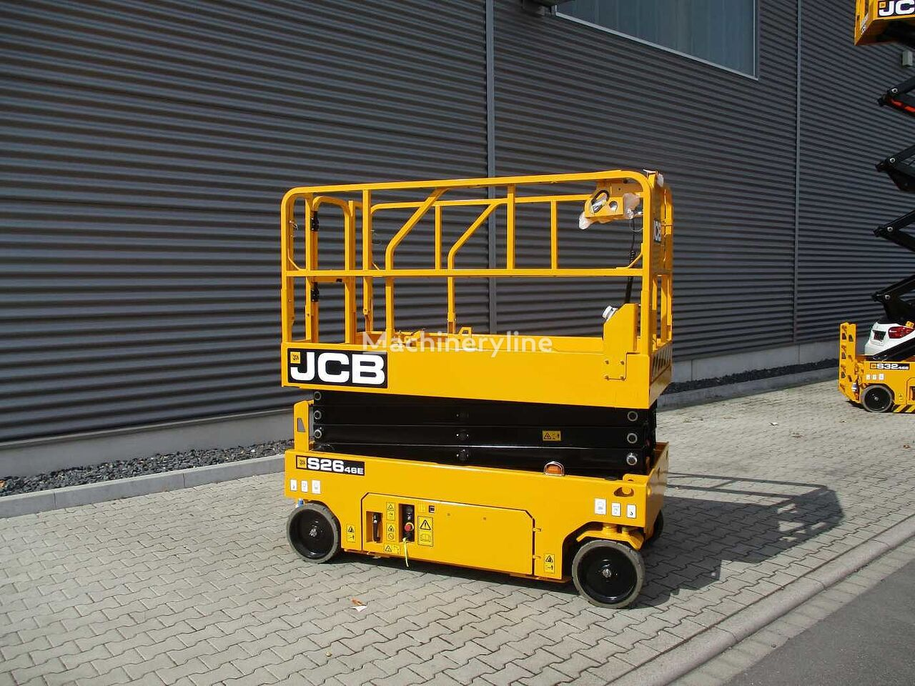 new JCB S2646E scissor lift
