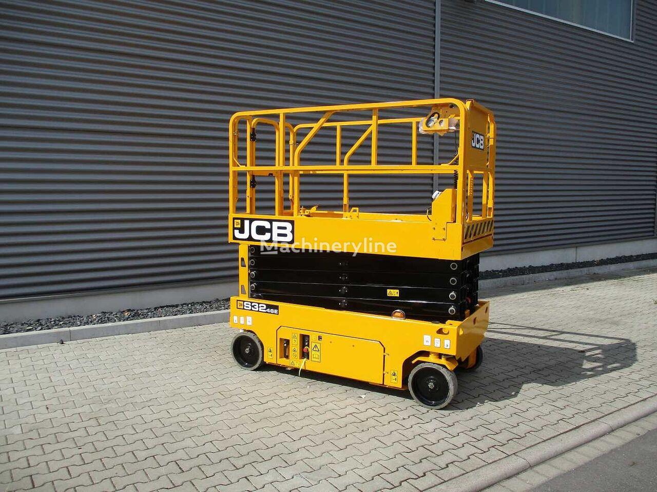 new JCB S3246E Scherenbühne // 12m Arbeitshöhe scissor lift