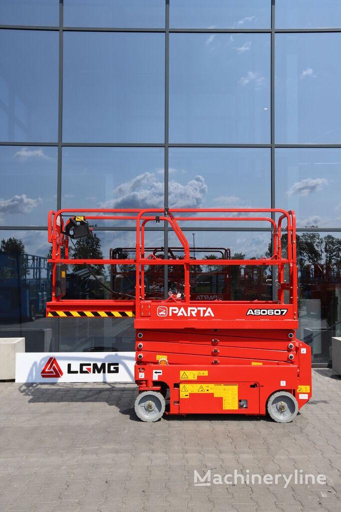new LGMG PARTA  AS0607W scissor lift