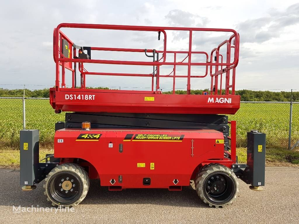 new MAGNI DS 1418 RT scissor lift