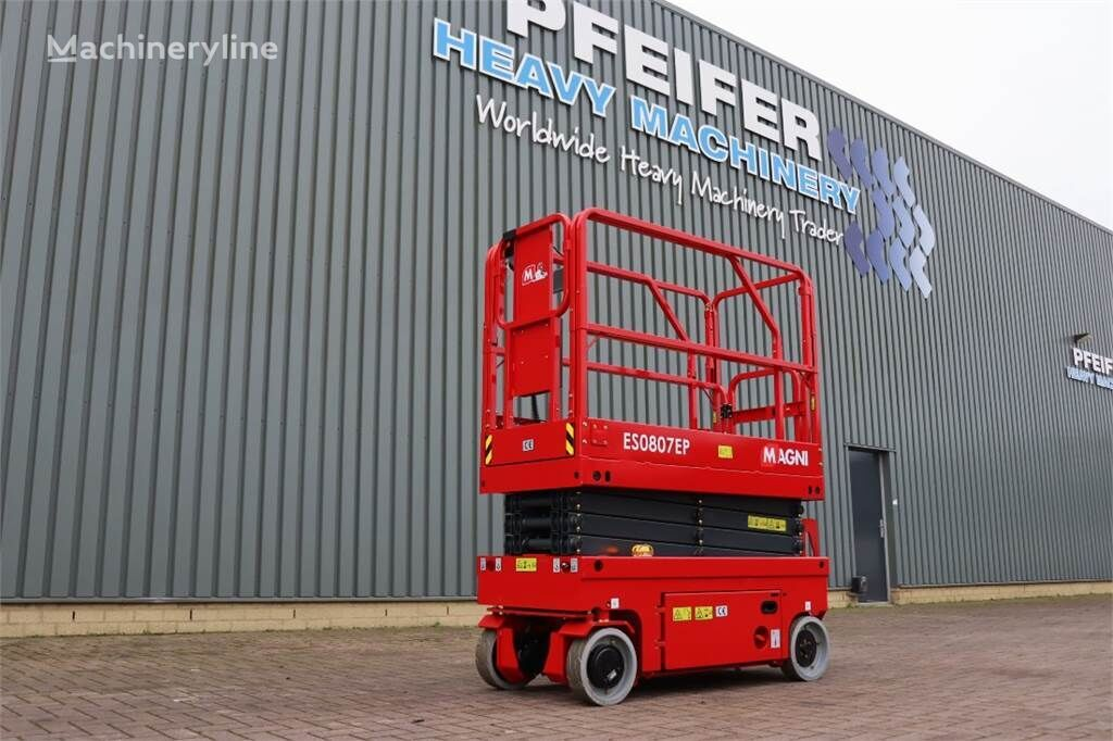 MAGNI ES0807EP New And Available Directly From Stock, El scissor lift