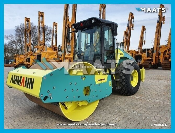 new AMMANN ARS 110 HX single drum compactor