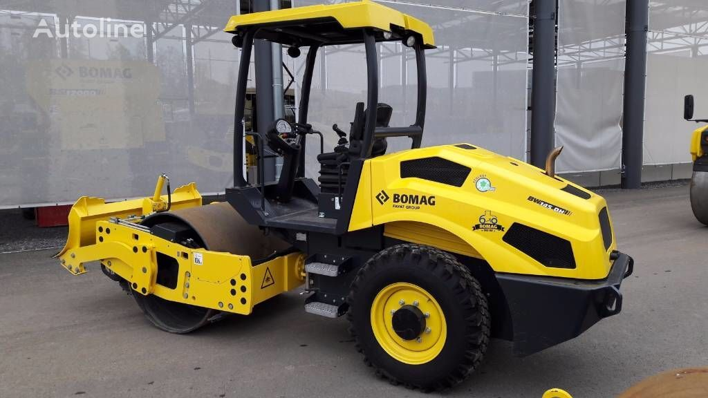 new BOMAG BW 145 DH-5 single drum compactor