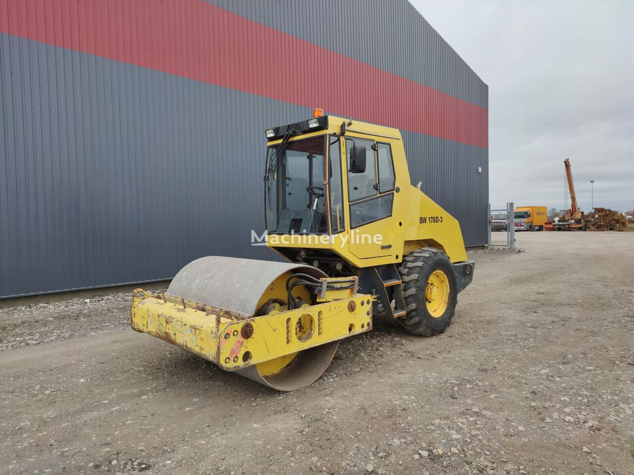 BOMAG BW 178D-3 single drum compactor