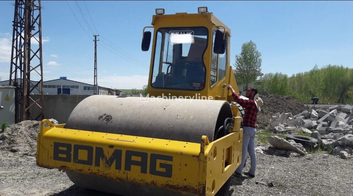 BOMAG BW212D-3 single drum compactor