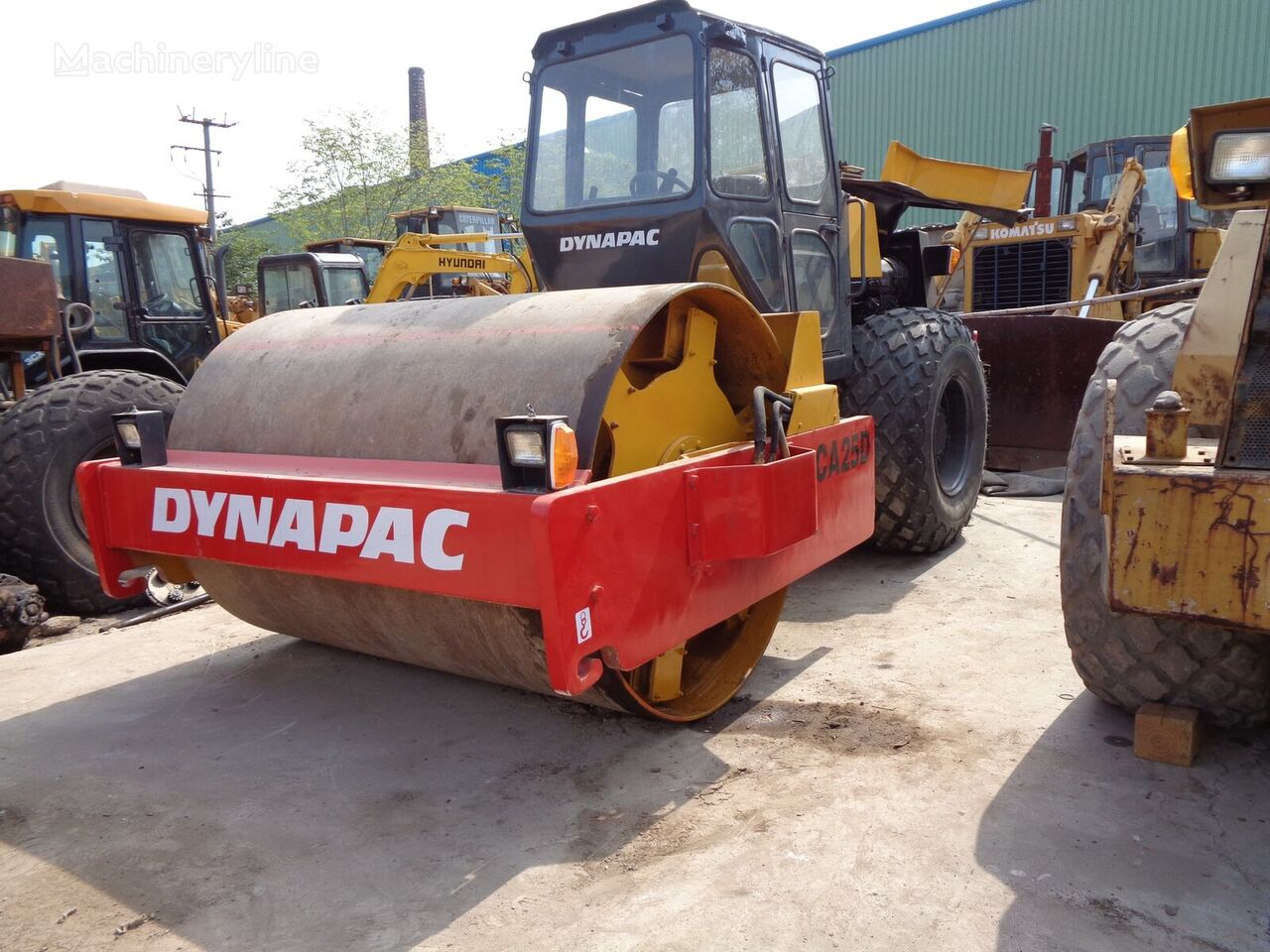 DYNAPAC CA30D single drum compactor