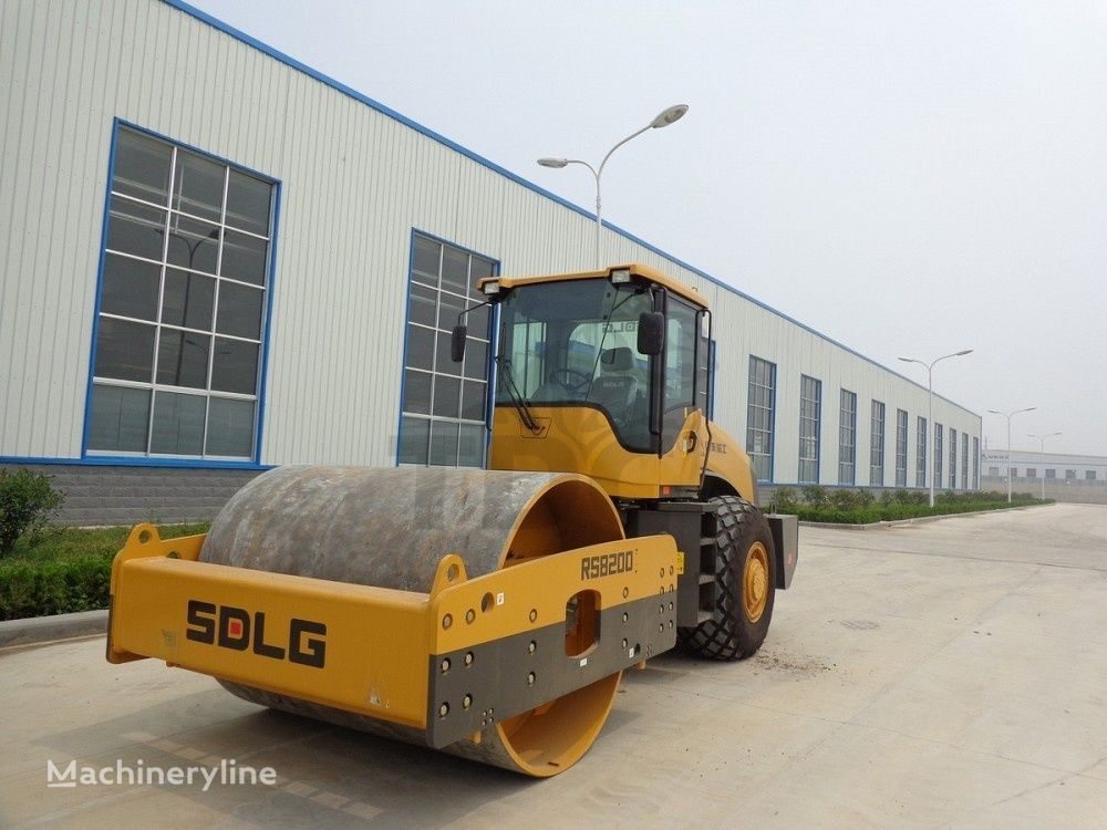 SDLG RS8200 single drum compactor