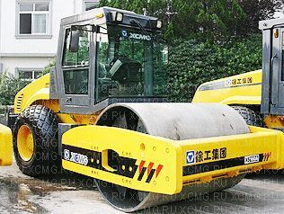 new XCMG XS162 single drum compactor