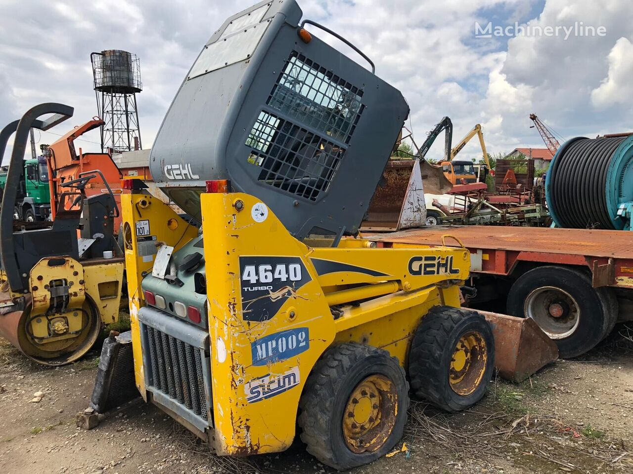 GEHL 4640 FOR PARTS skid steer