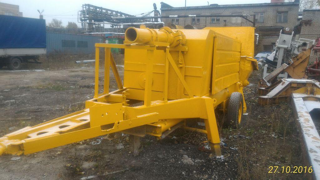 PUTZMEISTER 1408 stationary concrete pump